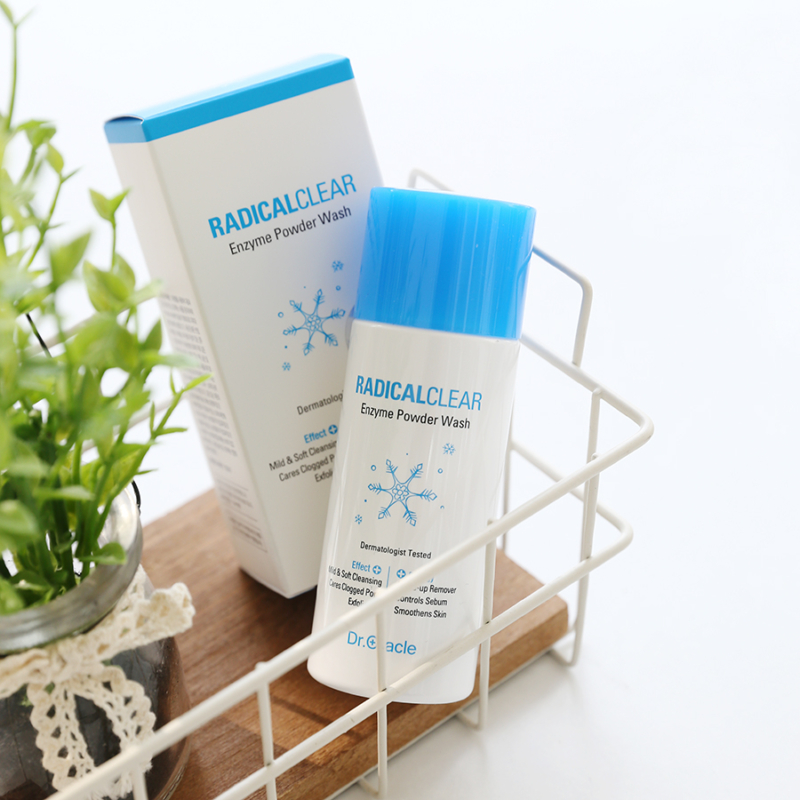 Enzyme powder wash arctisztító